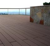 Haltbarer wasserdichter WPC Fußboden für Garten-Dekoration 135*25