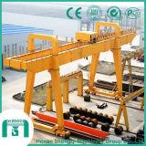 Высокое качество тип кран на козлах Mg 150 тонн прогона двойника