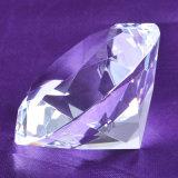 Diamant en cristal en verre de cadeaux de renvoi de faveurs de mariage
