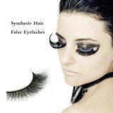 La mayoría sintético Material del pelo de las pestañas falsas al por mayor de moda