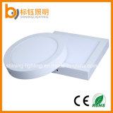 Le ce RoHS a reconnu le panneau blanc chaud d'éclairage LED de support de surface de lampe de plafond
