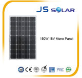 el mono panel solar 150W con Ce y la ISO