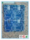 高品質2の層堅いFr4青いSoderマスクPCB