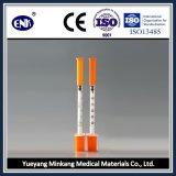 La siringa a gettare medica dell'insulina, con l'ago (0.3ml), con Ce&ISO ha approvato