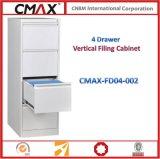 4개의 서랍 수직 서류 캐비넷 Cmax-Fd04-002