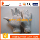 Knitted naturale Cotton Work Gloves con CE (DCK701)
