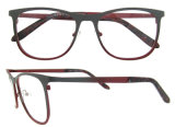 Eyeglass vermelho Polished do metal de China da mão quente do Sell grande