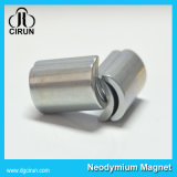 Super starker gesinterter Lichtbogen-Form-Neodym-Magnet für Motor