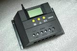 60A, 12V/24V 의 LCD 지능적인 태양 관제사