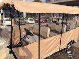 China maakte tot Beste Elektrisch voertuig 6 Mensen de Mini Goedkope Elektrische Kar van het Golf voor Verkoop