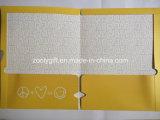 Sostenedor barato clasificado de la carpeta de fichero del bolsillo del papel del documento A4
