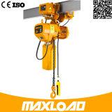 Hijstoestel van de Ketting van Maxload het Nieuwe ModelEr2 Elektrische met M5 het Werk Rang