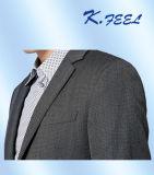 회색 Mens는 적당한 한 벌 블레이저 코트를 체중을 줄인다