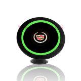 Chargeur sans fil Ce / Rohs / Rech / Qi Car Mount Transmitter personnalisé pour téléphone mobile