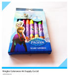 Tip Water Color Pen de 8PCS Round para Kids e Students