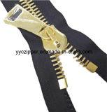 Reißverschluss-geöffnetes Enden-Reißverschluss des Metall20# für Gepäck