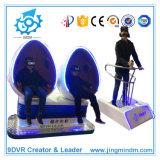 完全なImmersive 9d Vr Vibration Cinema、Amusement Ride Virtual Reality Machineのための9d Cinema Theater Virtual Reality Roller Coaster Simulator