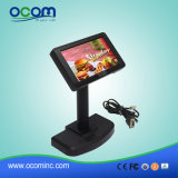Высокая индикация клиента системы POS USB LCD 2X20 разрешения черная