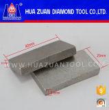 Segmento do diamante da alta qualidade de Huazuan para a estaca do granito