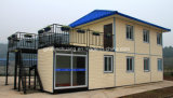 Tijdelijk Draagbaar Modulair Huis voor Afrikaan