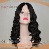 Изготовление 100% париков волос Remy девственницы еврейское Kosher