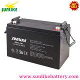 Batterie solaire 12V100ah de gel d'UPS de cycle profond avec 1500cycles 50%Dod