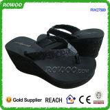 Изготовленный на заказ белые комфортабельные Flops Flip венчания пятки клина (RW27569)