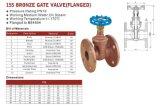 Il bronzo marino ha flangiato valvola di Valvola-HVAC del cancello (155)