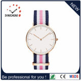Het aangepaste Slanke Horloge van de Minnaar van het Paar van het Kwarts/het Achter Unisex-Polshorloge van het Roestvrij staal