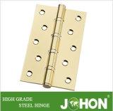 """鋼鉄または鉄のドアのハードウェアのヒンジ(5つの"""" X3 """" /120mmx80mmの家具のアクセサリ)"""