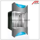 기계 Roomless를 가진 유리제 관광 엘리베이터