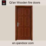 Sapeleのベニヤの熱絶縁体木ドア