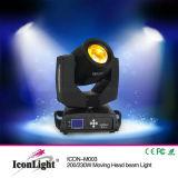 luz principal móvil sostenida de 200W 5r Osram (ICON-M003-5R)