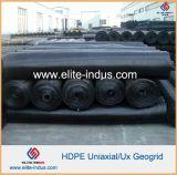 HDPE Geogrid uniaxial para el refuerzo de los muros de contención