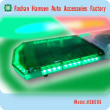 LED Emergency Green Red Police Traffic Warning Lightbar mit Speaker und Siren