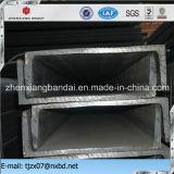 Tamaños de acero del canal con Q235 estándar, Q345, Ss400 para el material de la estructura de edificio