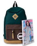 Preço barato ocasional de 2016 sacos de ombro da lona das Multi-Cores do saco de escola da forma do saco do curso da trouxa das mulheres (Ld342)