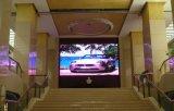 Mur visuel polychrome d'intérieur de HD P4.81 DEL pour l'hôtel et la publicité