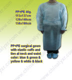 PET Schutz-nichtgewebtes chirurgisches Kleid (LY-NSK-B)
