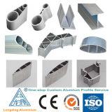 Extrusões de alumínio feitas sob encomenda de alumínio expulsas