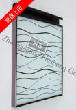 verre Tempered d'impression de vague de 12mm