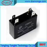 Capacitor do condicionador de ar do capacitor do capacitor Cbb61 do motor de C.A.