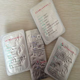 Folha de alumínio de Op/Al/Vc para a embalagem da bolha da droga
