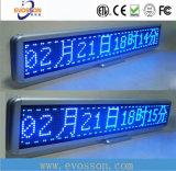 Muestra al aire libre de la pantalla de visualización de LED del color de P10mm sola con diverso color