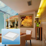 Hohes Innenaluminiumlicht des Lumen-6W-24W LED des Panel-Light/LED