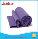 Serviette respectueuse de l'environnement de yoga de Microfiber de fibre normale, serviette antidérapage de natte de yoga