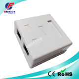 8p8c Cat5e Double Ports Surface Mount Box