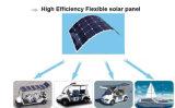 高品質のSunpowerの適用範囲が広い太陽電池パネル100W