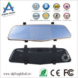 "4.5 "" Auto Rear View Mirror Recorder, Front/Back Dual Lens Recording HD 1080P WDR Dashcam"