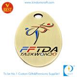 Medaglia d'ottone del Taekwondo del premio del ricordo dell'oggetto d'antiquariato di modo dell'OEM